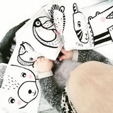 Pirmoji minkšta kūdikio knygutė Meškutis