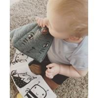 Pirmoji minkšta kūdikio knygutė Kačiukas