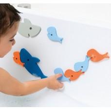 Vonios puzle žaidimas Shark