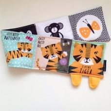 Tip Toe Tigras - Pirmoji minkšta kūdikio knygutė