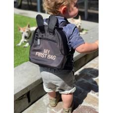Vaikiška kuprinė MY FIRST BAG BLACK