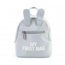Vaikiška kuprinė MY FIRST BAG GREY
