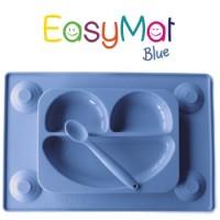 Silikoninė lėkštė EasyMat Blue