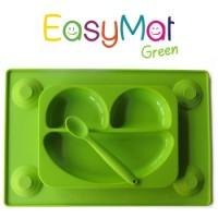 Silikoninė lėkštė EasyMat Green