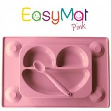Silikoninė lėkštė EasyMat Pink