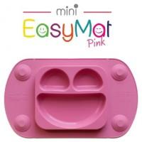 Silikoninė lėkštė EasyMat Mini Pink