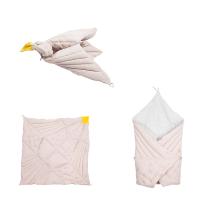 Daugiafunkcinis užklotukas BIRD MAUVE