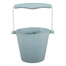 Silikoninis kibirėlis Scrunch Buckets Grey