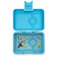Priešpiečių dėžutė Yumbox MiniSnack - Nevis Blue