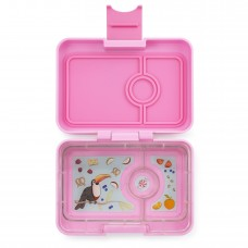 Priešpiečių dėžutė Yumbox MiniSnack - Starburst Pink